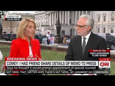 """CNN's Dana Bash On Comey: """"Boy Is This Guy Political"""""""
