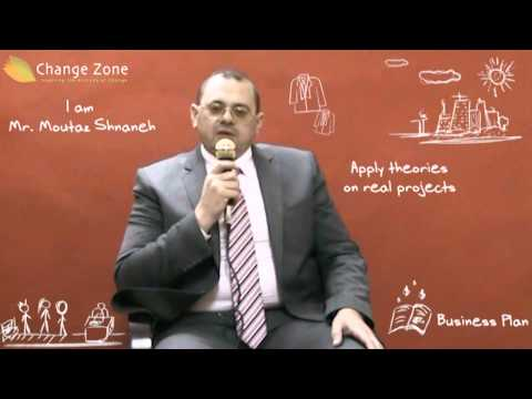Change Zone's Mini MBA in Practice Graduate - Mr.Mutaz Shinaneh