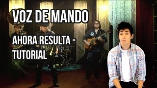 Video Como tocar Ahora resulta de Voz de Mando. Voz de Mando - Ahora resulta en acordeon. download MP3, 3GP, MP4, WEBM, AVI, FLV Juni 2018