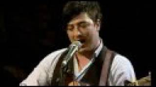 Mumford and Sons - White Blank Page (live)