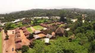 Palace of Bafut by drone - Cameroon Kingdom