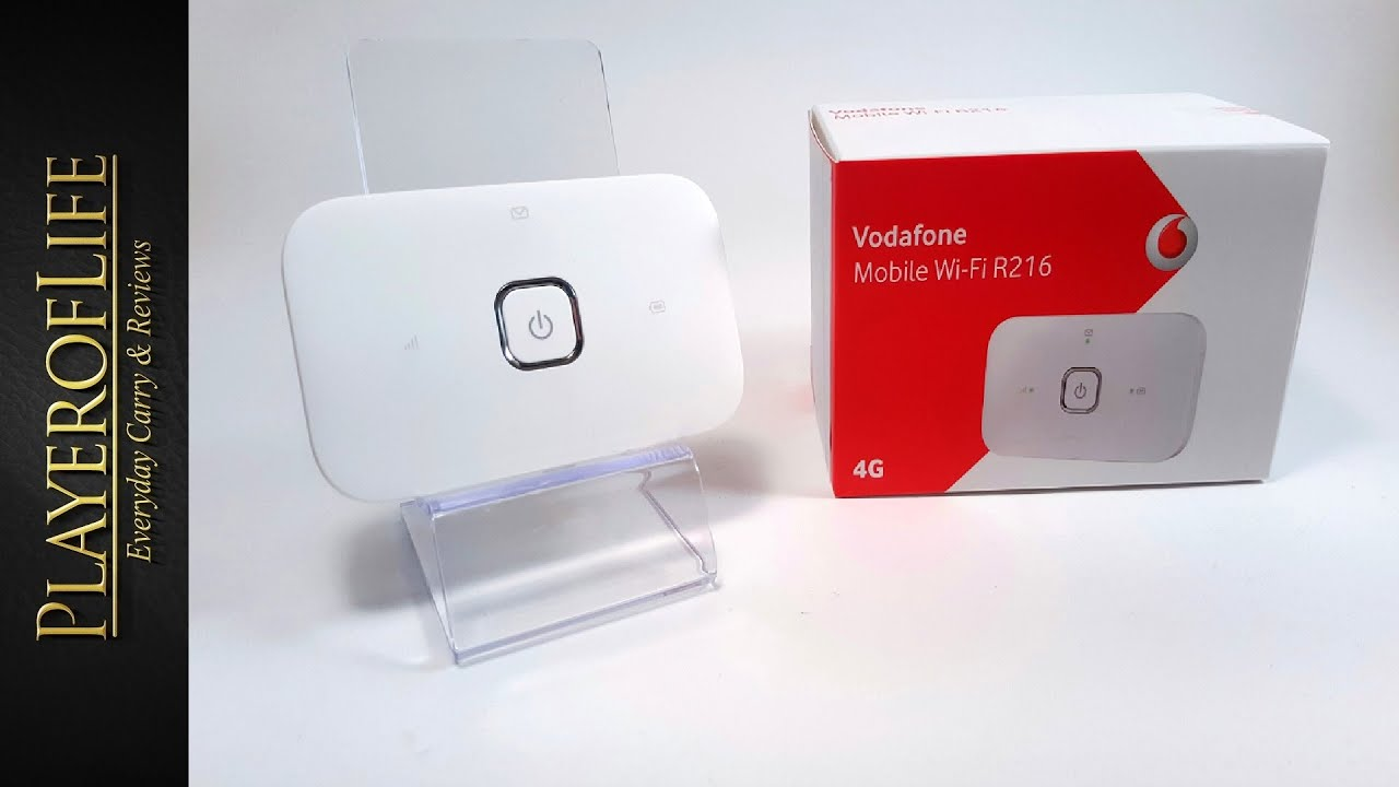 EDC Mobile Broadband Vodafone wifi R216 - 4G Model March 2016