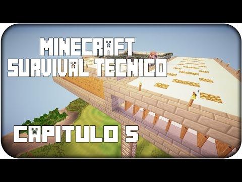 Minecraft SURVIVAL TÉCNICO   Ep: 5   IRON FOUNDRY