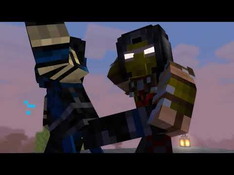 Scorpion Vs Subzero (minecraft Animation)