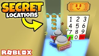 ALLE *NEUEN* GEHEIMEN TICKET-LOCATIONS NACH OSTERN! (Roblox Bee Swarm Simulator Geheimnisse)