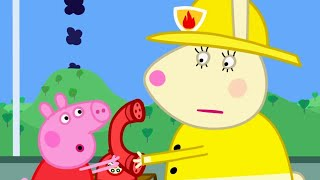 Peppa Pig Official Channel | Peppa Pig at the Fire Station