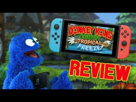 Donkey Kong Country: Tropical Freeze Review (Switch) │ A Funksterpiece