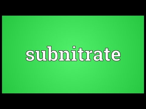 Header of subnitrate
