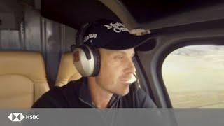 HSBC Sport | Henrik Stenson Recreates Stunning 2016 Open Victory in 360 Video