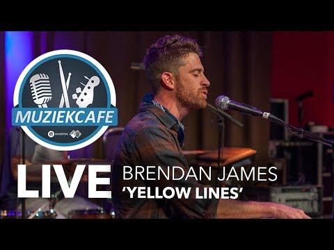 Brendan James - 'Yellow Lines' live bij Muziekcafé