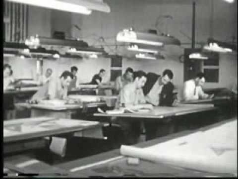 Mattel Toy factory in the 1950s