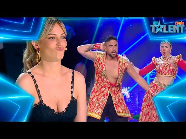 La inesperada valoración de RISTO de este SHOW BOLLYWOOD | Audiciones 7 | Got Talent España 7 (2021)
