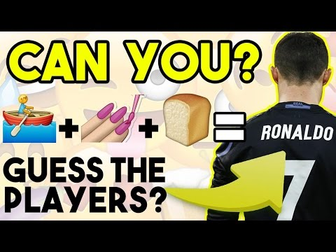 Can You GUESS THE PLAYERS By The Emoji?