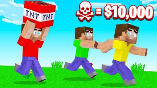 LAST To SURVIVE TNT WINS $10,000! (Minecraft)
