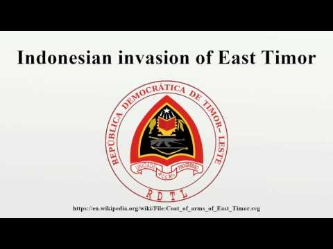 Indonesian invasion of East Timor