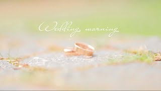 "Wedding morning "" Дима+Катя version of instagram"