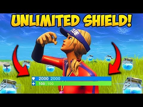 NEW *UNLIMITED SHIELDS* TRICK! - Fortnite Funny Fails and WTF Moments! #274