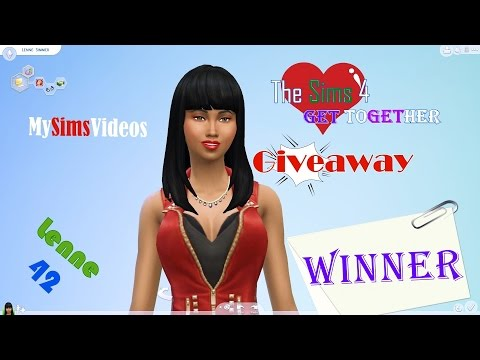 The Sims 4: Get Together Giveaway WINNER |