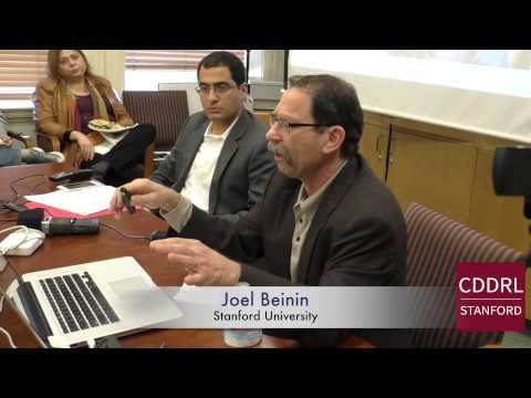 """ARD Stanford: Joel Beinin on """"Workers and Revolutions in Egypt and Tunisia"""" Jan 21, 2015"""