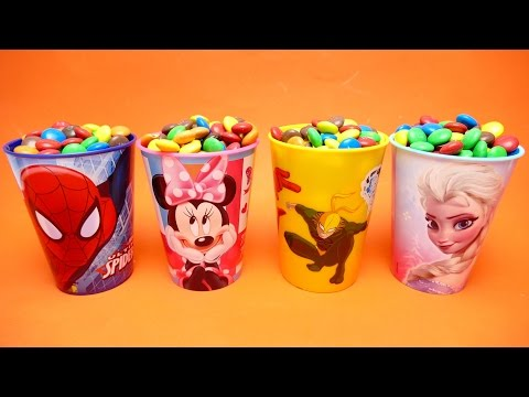 Thumbnail: Tsum Tsum Masha Paw Patrol Nursery Rhymes Candy Surprise Toys Spiderman