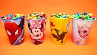 Tsum Tsum Masha Paw Patrol Nursery Rhymes Candy Surprise Toys Spiderman