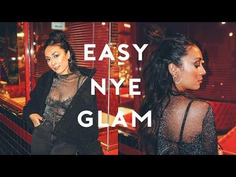GRWM EASY NYE GLAM  2017