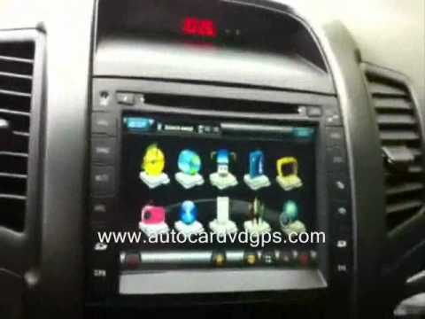 Kia Sorento Aftermarket Gps Radio Youtube