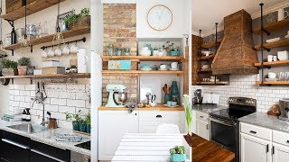 🌼 19 Gorgeous Kitchen Open Shelving That Will Inspire You 🌼