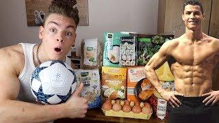Ich esse 1 Tag lang wie CRISTIANO RONALDO (Profi - Fußballer)