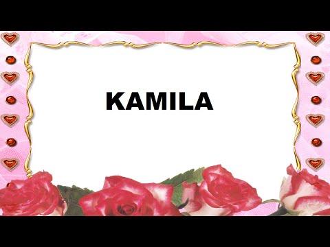 Kamila Significado e Origem do Nome