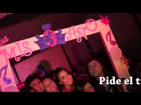 MARCO gigante para tomarse fotos en fiestas - YouTube