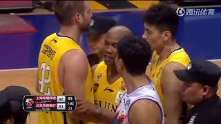 Stephon Marbury and Jimmer Fredette fight in China