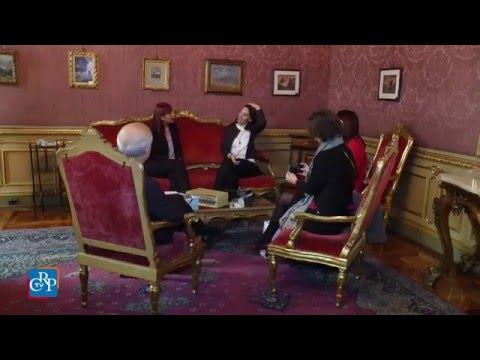 A Palazzo Lascaris il ministro della Cultura d'Albania