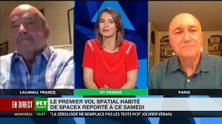 Décollage de SpaceX: tout savoir avec le spationaute Patrick Baudry et le journaliste Michel Polacco