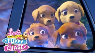 The Puppies Are Missing! | Barbie & Her Sisters in a Puppy Chase | Barbie