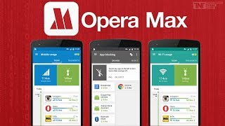 Data manager and saver Opera MAX