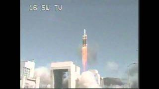 LIFTOFF of the Delta IV Heavy rocket carrying the NROL-49 payload(spy satellite)