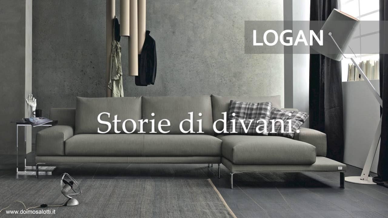 Doimo Salotti - Divano Logan - YouTube