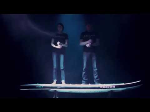 Introducing New BLACKFIN Paddle Board by iROCKER (2018)