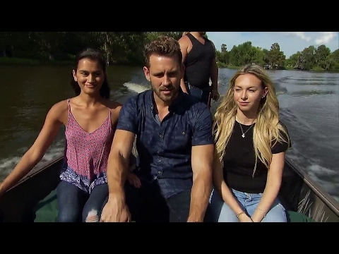 """The Bachelor """"Corinne vs Taylor"""" Two-on-One Date - Part 1"""