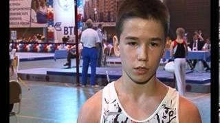 Лучшие молодые гимнасты России встретились в Сызрани