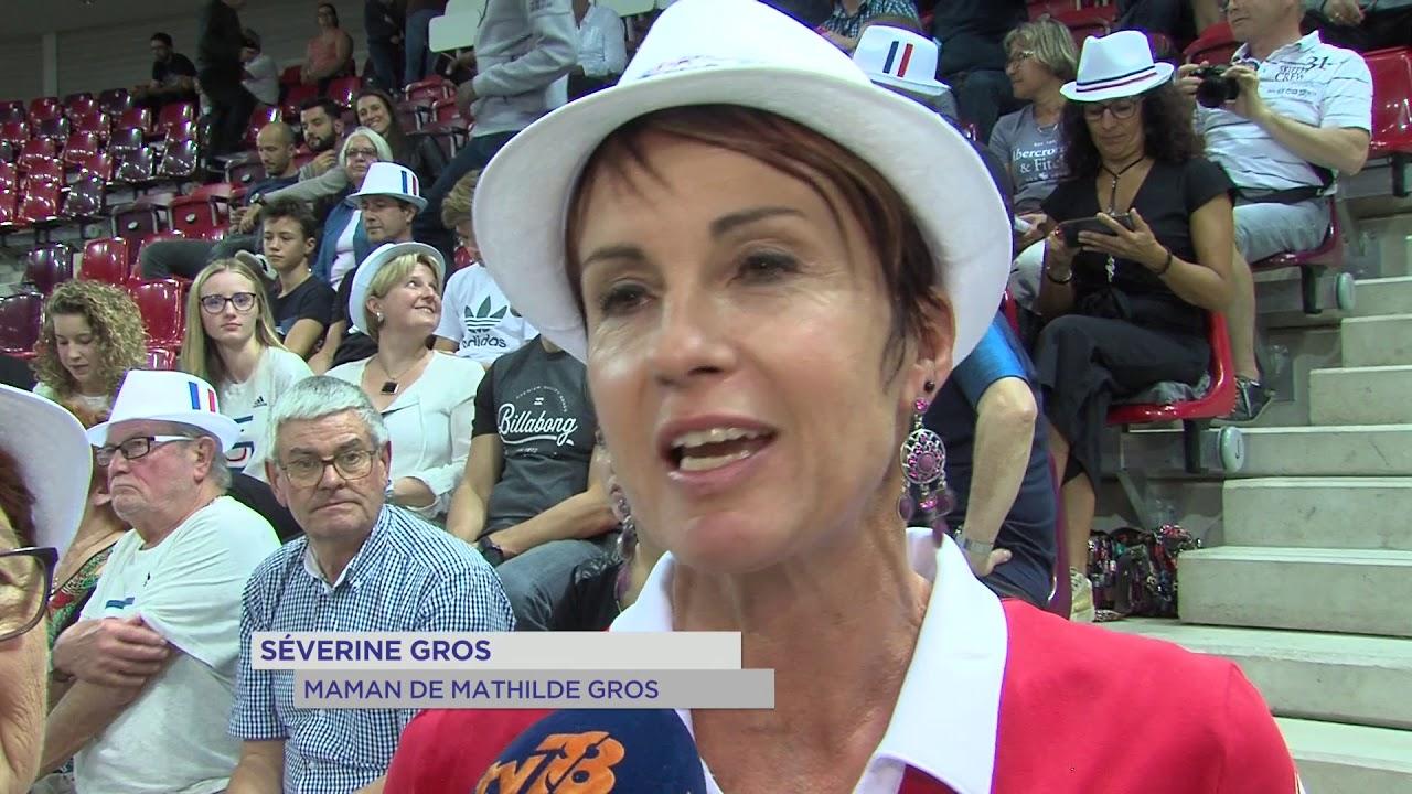 Coupe du monde : Le clan Mathilde Gros réuni derrière elle au Vélodrome national !