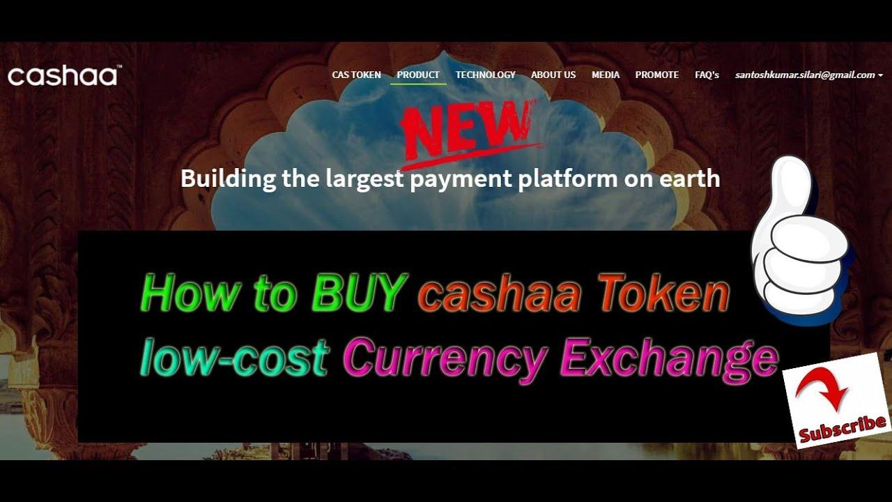 Cashaa - ICO over - TokenMarket