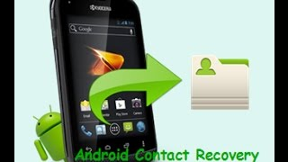 Contact recovery-How to restore deleted....