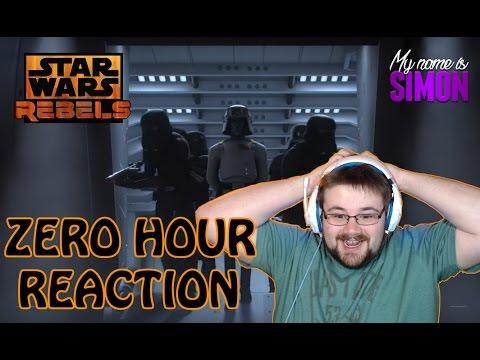 Star Wars Rebels - Season 3 FINALE - Zero Hour - Reaction