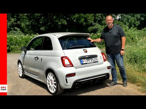 2019 Abarth 595 Esseesse Deutsche Rezension - Review