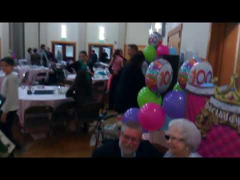 Phyllis's 100th birthday