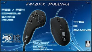 FRAGFX PIRANHA PS4 - PRO GAMING MOUSE FOR PS4 🖱️ - Sony officially licensed - THIS IS GAMING