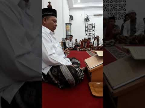 Ceramah Tafsir Oleh Tgk Misran Fuadi Di Lhokseumawe, Aceh.