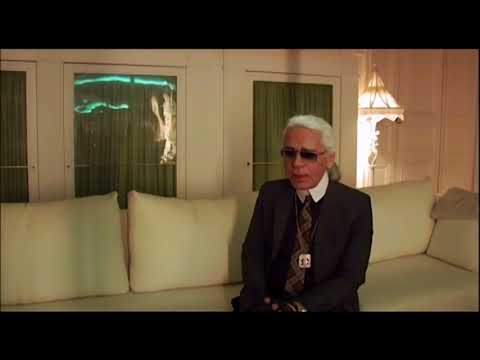 Кадр из фильма секреты Карла Лагерфельда 2007
